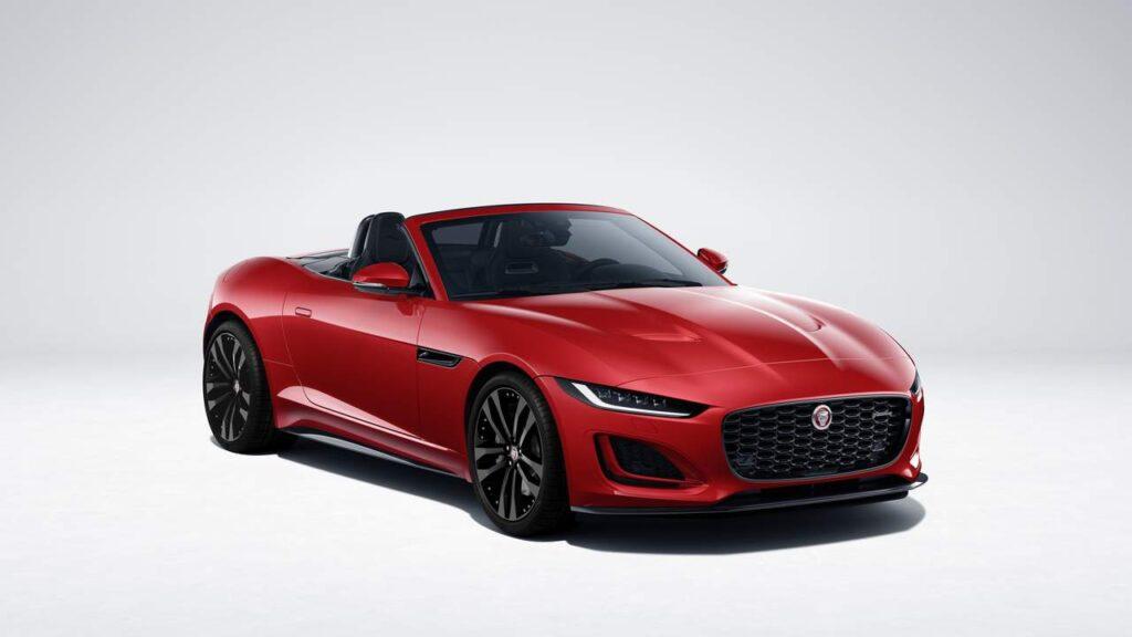 2022 Jaguar F-Type Debut Surprise Great Supercharger