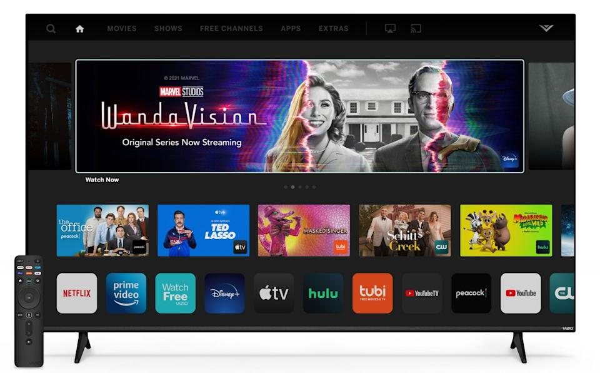 2022 Vizio Smart TV boasts with pro-gaming meat, remote sound