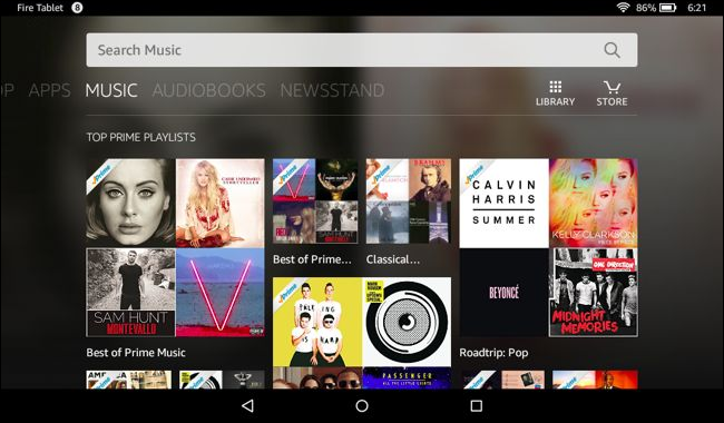 Fireos: Is the Amazon software competing with Android?