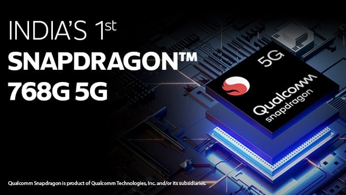 Iqoo z3 be first smartphone snapdragon 768g from India