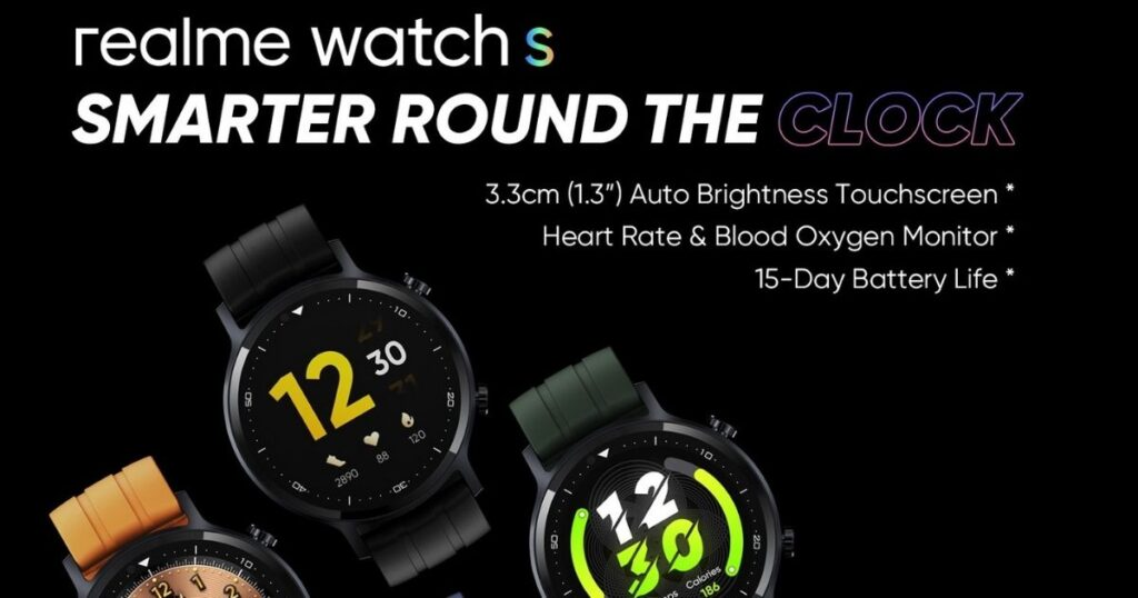 Realme Watch s gets new colourway – silver