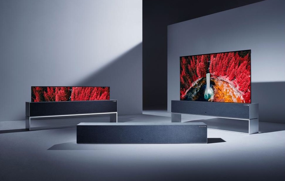 This new OLED TV design lets you watch TV on the ceiling