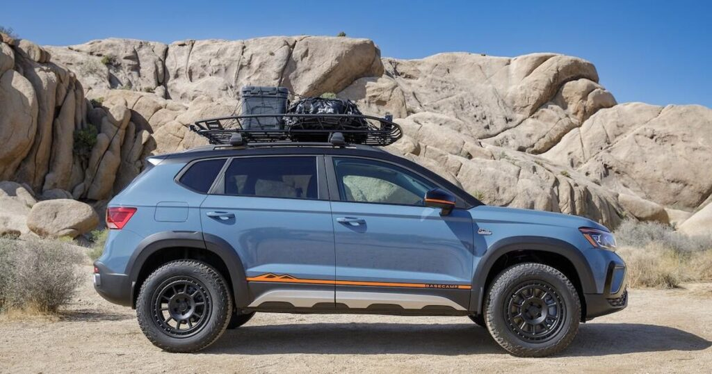 Volkswagen reveals a complete accessory line for Taos SUV